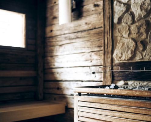 Wellnessbereich Finnische Sauna