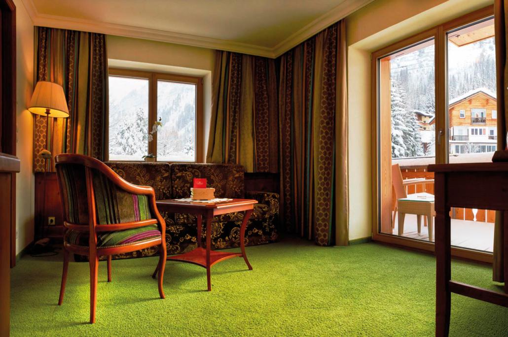 Wohnbereich der Suite Komfort