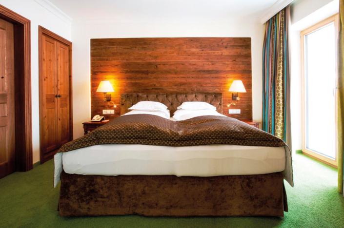 Schlafen in der Suite Komfort