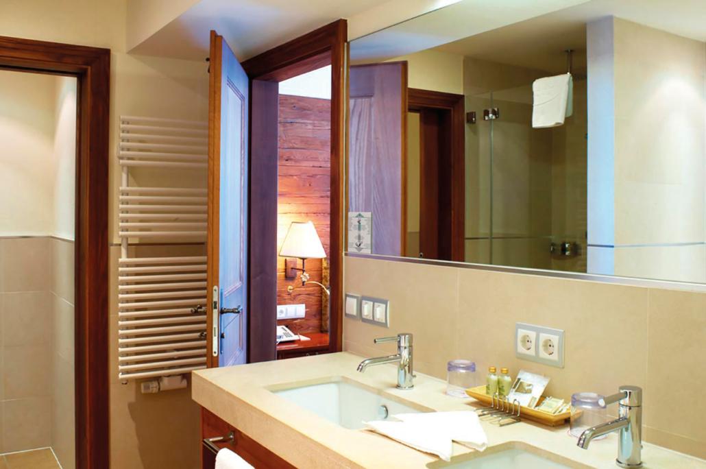 Badezimmer der Suite Komfort