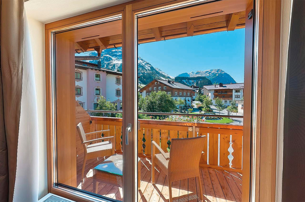 Doppelzimmer Superior mit Balkon