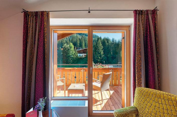 Doppelzimmer Superior Garten mit Balkon