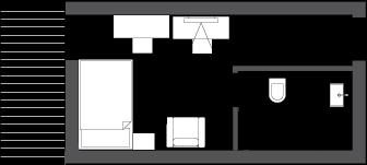 Sketch single room deluxe