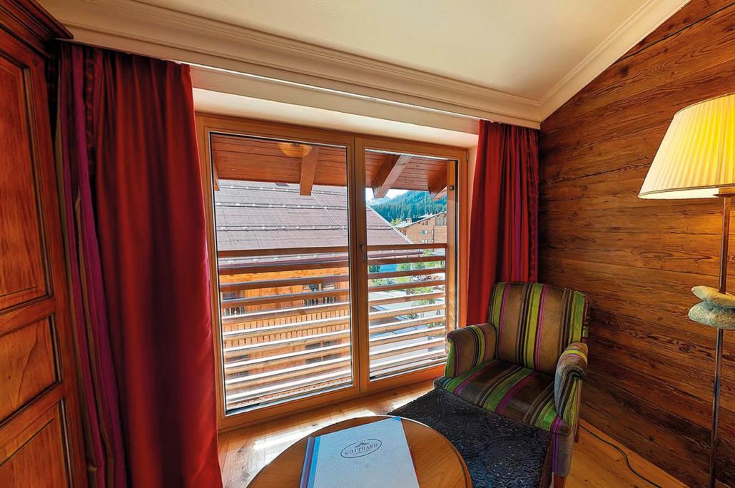 Einzelzimmer Superior mit Balkon