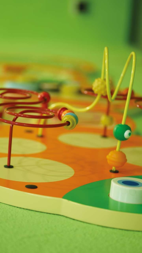 Fun & games for children at the Hotel Gotthard