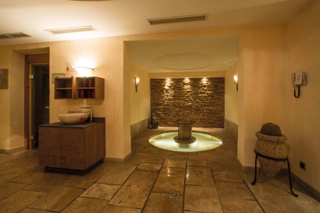 Saunabereich im Hotel Gotthard