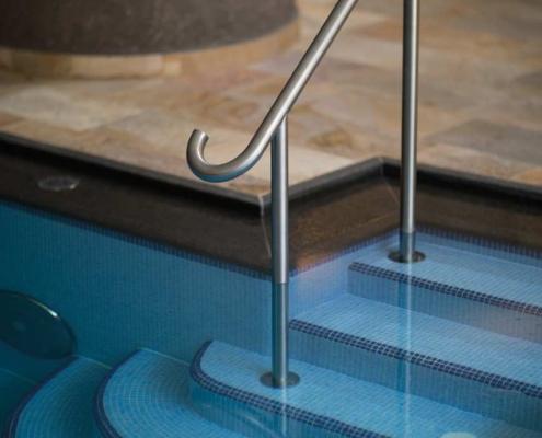 Herrlich erfrischend - der Pool im Hotel Gotthard
