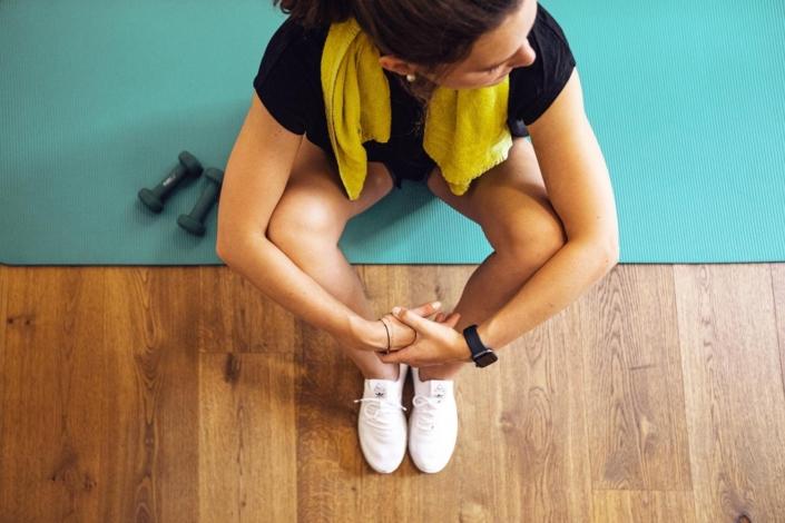 Kondition aufbauen in unserem Fitnessraum
