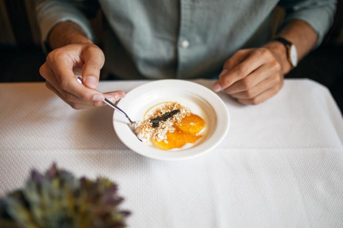 Frühstücken im Hotel Gotthard