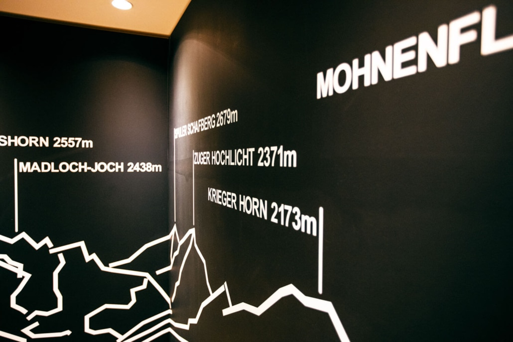 Berge rund um Lech-Zürs