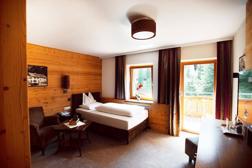 Moderner Komfort in den Zimmern des Hotel Gotthards
