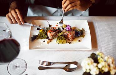 Kulinarisch verwöhnen lassen im Hotel Gotthard
