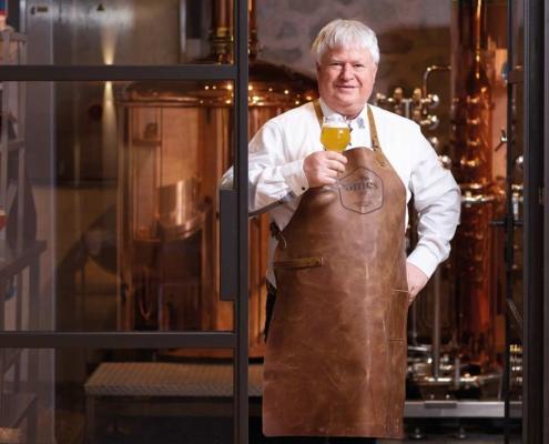 Clemens Walch in seiner Brauerei
