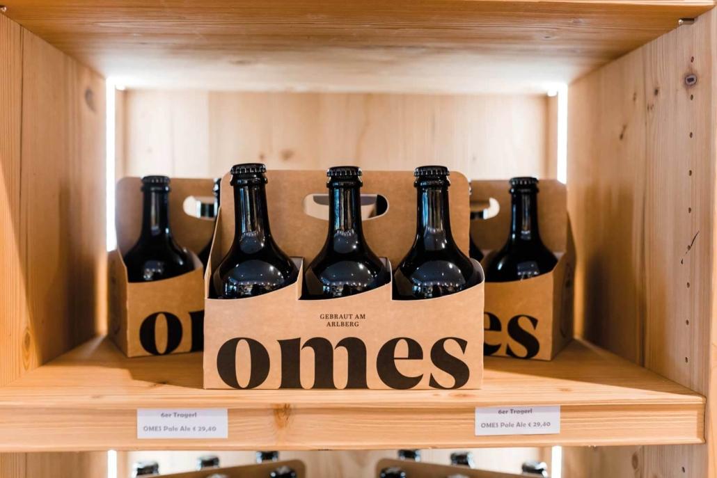 6er-Tragerl Omes Bier