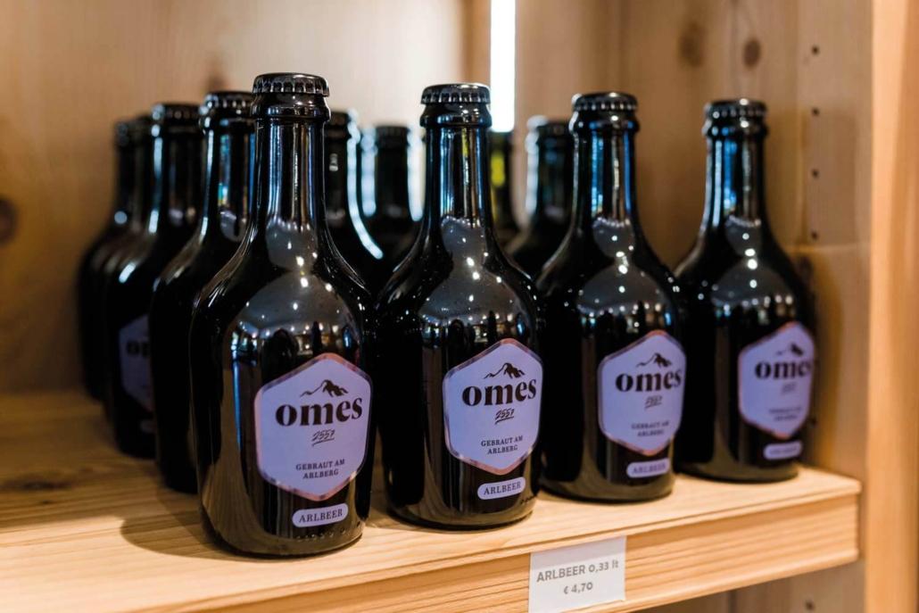 Omes Bier - ARLBEER im Regal